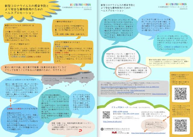 新型コロナウイルスの感染予防とより安全な薬物使用(NYAN|日本薬物政策アドボカシーネットワーク)full