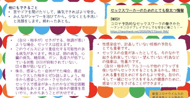 新型コロナウイルスの感染予防とセーファーセックス(NYAN|日本薬物政策アドボカシーネットワーク)04